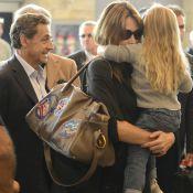 "Carla Bruni-Sarkozy : Confidences sur Giulia qui ""ressemble beaucoup à Nicolas"""