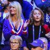 Coupe Davis : Yannick Noah soutenu par sa femme Isabelle et leur fils Joalukas