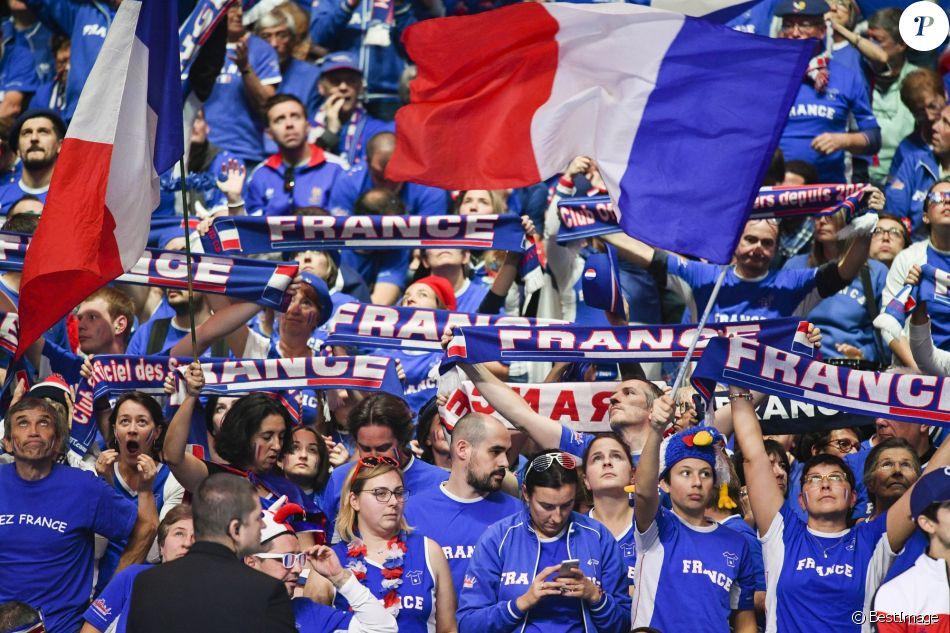 1er match de la finale de la coupe davis opposant la france la belgique remport par goffin 7 - Match de coupe de france ...