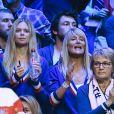 Isabelle Camus (Compagne de Yannick Noah) - Finale de la coupe Davis opposant la France à la Belgique au Stade Pierre Mauroy à Lille , le 24 novembre 2017 © Perusseau - Ramsamy / Bestimage