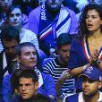 Noura El Shwekh (compagne de Jo-Wilfried Tsonga) - 1er match de la Finale de la coupe Davis opposant la France à la Belgique remporté par Goffin (7-5, 6-3, 6-1) au Stade Pierre Mauroy à Lille , le 24 novembre 2017. © Perusseau - Ramsamy / Bestimage