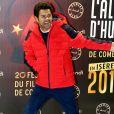 """Jamel Debbouze - Soirée spéciale """"Jamel Comedy Club"""" dans le cadre du 20ème festival de Comédie à l'Alpe d'Huez, le 18 Janvier 2017. © Dominique Jacovides/Bestimage"""