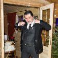 """Semi-exclusif - Christophe Barratier - Inauguration du """"Chalet les Neiges 1850"""" sur la terrasse l'Hôtel Barrière Le Fouquet's à Paris le 27 novembre 2017. © Coadic Guirec/Bestimage"""