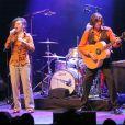 Les Rita Mitsouko, Catherine Ringer et Fred Ringer, en concert à la Cigale le 23 avril 2007.
