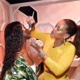 Rihanna pour Fenty Beauty. Septembre 2017.
