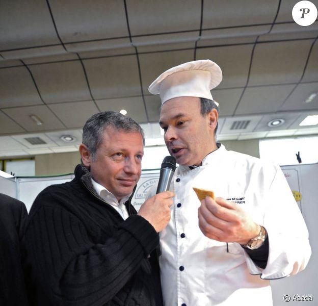 David Martin anime le 13e salon de la Gastronomie à Wasquehal ! 01/03/09