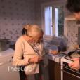 Jean Imbert en visite chez sa grand-mère de 92 ans dans l'émission Thé ou Café de Catherine Ceylac le 2 décembre 2017 sur France 2.