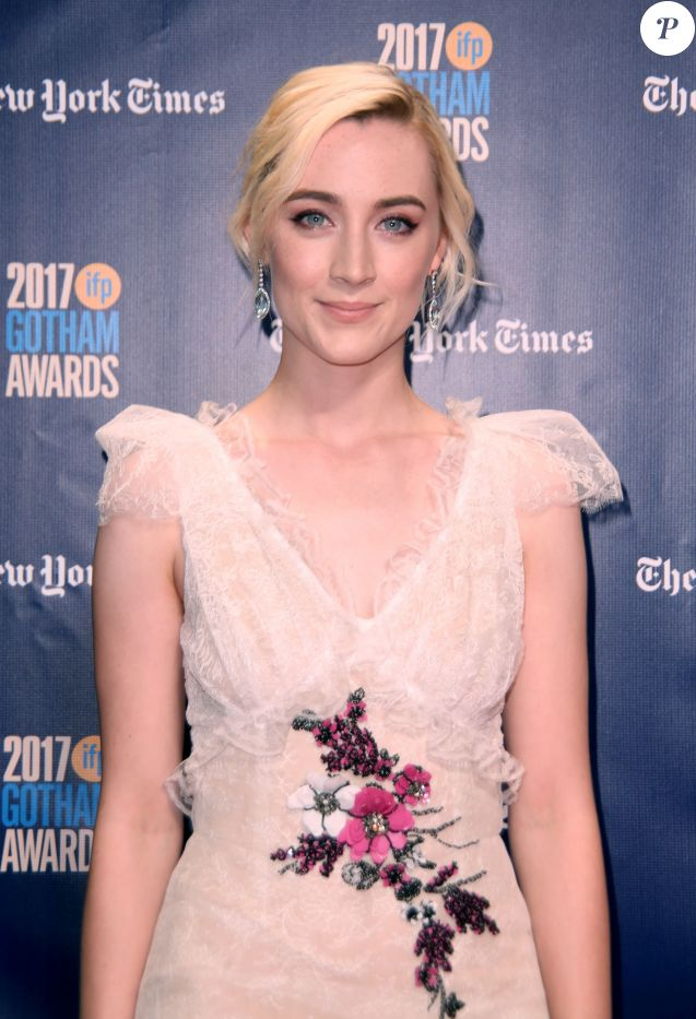 Saoirse Ronan - 27ème soirée annuelle des Gotham Independent Film Awards à New York City, New York, Etats-Unis, le 27 novembre 2017. © Sonia Moskowitz/Globe Photos/Zuma Press/Bestimage