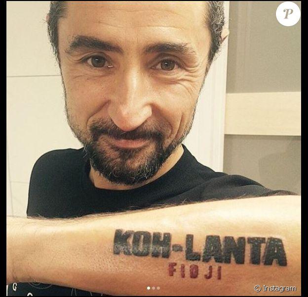 Sébastien (Koh-Lanta Fidji) s'est fait deux nouveaux tatouages en lien avec sa participation au jeu d'aventure de TF1.
