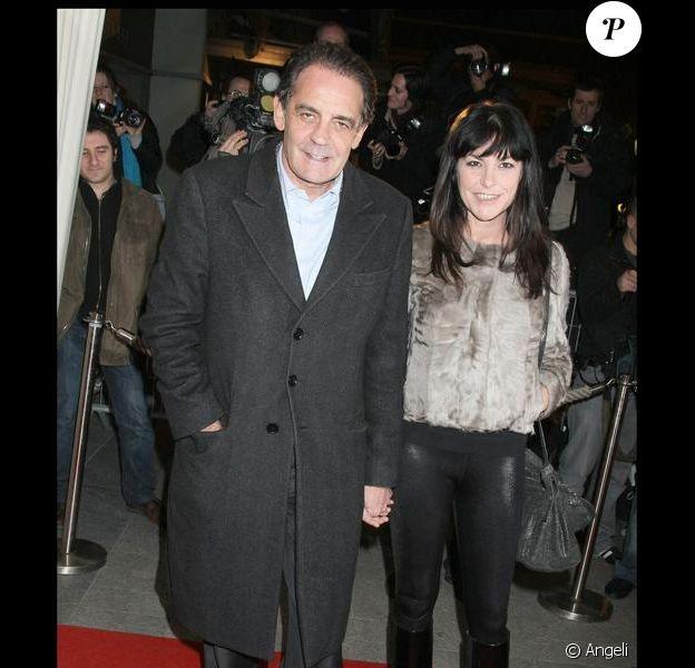 Lio et Jean-François Lepetit, amoureux comme au premier jour hier soir à la première de Loin de la terre brûlée à Paris