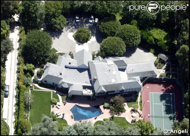 La maison de Madonna à Beverly Hills