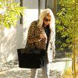 Exclusif - Fergie à Los Angeles. Le 30 novembre 2017