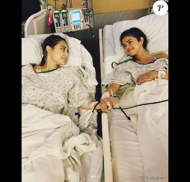 Selena Gomez a été transplantée d'un rein. Instagram, septembre 2017