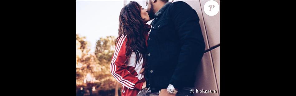 Anaïs Camizuli (Secret Story 7) et son mari Sultan, le 7 décembre 2017.