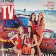 """Couverture du magazine """"TV Mag"""" daté du 8 décembre 2017"""