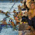 Philippe Lucas et ses nageurs ont pris leurs quartiers à Dunkerque. Encore du provisoire...