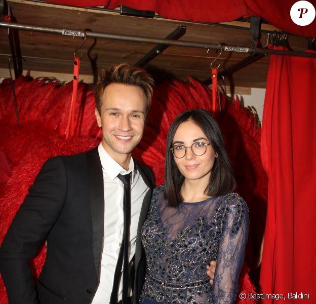 Exclusif - Cyril Féraud, Agathe Auproux - 23e édition des Trophées de la Nuit au Moulin Rouge à Paris, le 5 décembre 2017. © Baldini/Bestimage