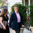 Nicolas Sarkozy se balade à New York pendant que sa femme Carla Bruni fait la tournée des talk-shows le 11 octobre 2017.