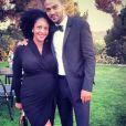 """""""Jesse Williams et sa femme, enceinte de leur premier enfant. 2014"""""""