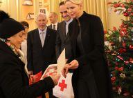Charlene de Monaco: Élégante Mère Noël pour les aînés, avec la photo des jumeaux