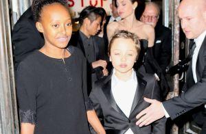 Angelina Jolie divine ambassadrice avec ses enfants ultrastylés !