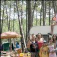 Exclusif - Tournage de Camping en 2005