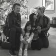 Les Hallyday à Los Angeles, décembre 2016.