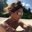 Elsa Zylberstein en vacances.