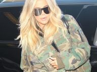 Khloé Kardashian enceinte : Son astuce adorable pour camoufler son ventre