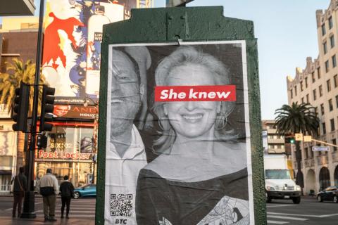 "Scandale Weinstein : Meryl Streep ""humiliée"" en pleine rue"