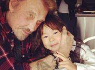 Johnny Hallyday, tendre papa pour Jade et Joy : Leurs plus belles photos