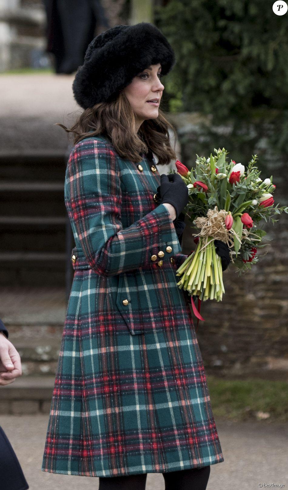 noel 2018 kate middleton Kate Middleton, duchesse de Cambridge, enceinte, a assisté à la  noel 2018 kate middleton