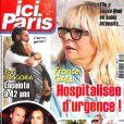 """Couverture du magazine """"Ici Paris"""" en kiosques le 27 décembre 2017"""