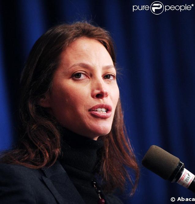 Christy Turlington lors de la conférence organisée par la fondation des Nations Unies le 6 mars 2009 à l'hotel Mayflower à Washington