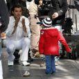 Gavin Rossdale en plein tournage de son nouveau clip, avec un cameo surprise de son fils, l'adorable Kingston !