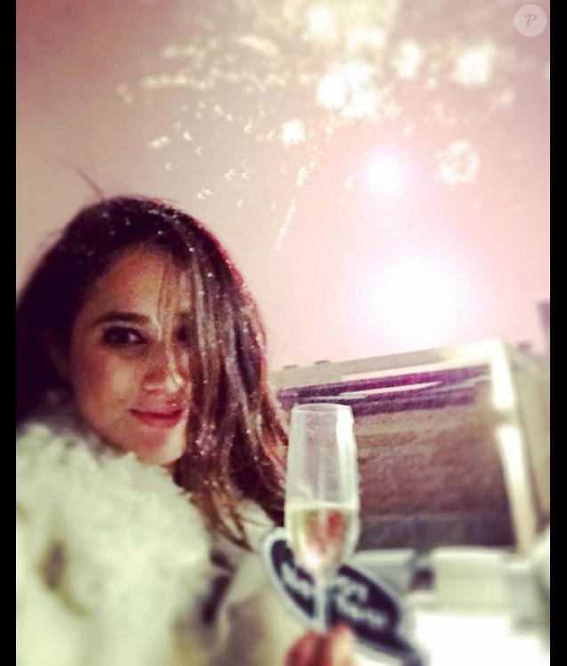 Meghan Markle sur Instagram le 1er janvier 2016, souhaitant une bonne année à ses abonnés depuis l'Islande.