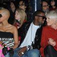 Amber, Kanye West et Pink défilé Stella McCartney ce lundi matin à Paris