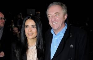 Salma Hayek et François Henri Pinault très collés-serrés au défilé McCartney...  Charlotte Casiraghi et Emma de Caunes ravissantes ! Voir vidéo (réactualisé)