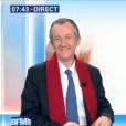 Christophe Barbier avant sa figure de hip-hop, le 3 janvier 2018 sur BFMTV.