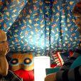 Zach Galifianakis et Grant Holmquist dans Very Bad Trip 3 en 2013.
