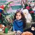 Kamila (Secret Story 11) lorsqu'elle était enfant. Un cliché très mignon dévoilé en janvier 2018.