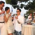 Mariage de Cristina Cordula et Frédéric Cassin en Italie. Juin 2017.