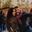 """""""Alain et Laura (Secret Story 11) en amoureux à Valence en Espagne, fin décembre 2017."""""""