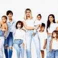 Les Kardashian prennent la pose pour Noël. Décembre 2017.