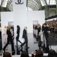 Défilé Chanel mardi matin au Grand Palais à Paris