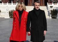 Brigitte et Emmanuel Macron en Chine : Un duo complice qui brave le froid