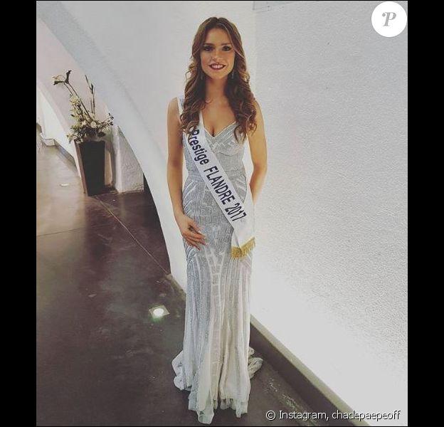 Charlotte Depaepe, Miss Flandre, élue Miss Prestige National 2018