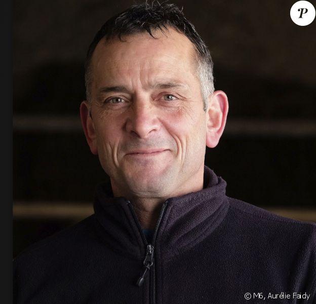 """Jacques, éleveur de vaches laitières en Auvergne-Rhône-Alpes. """"L'amour est dans le pré 2018"""""""