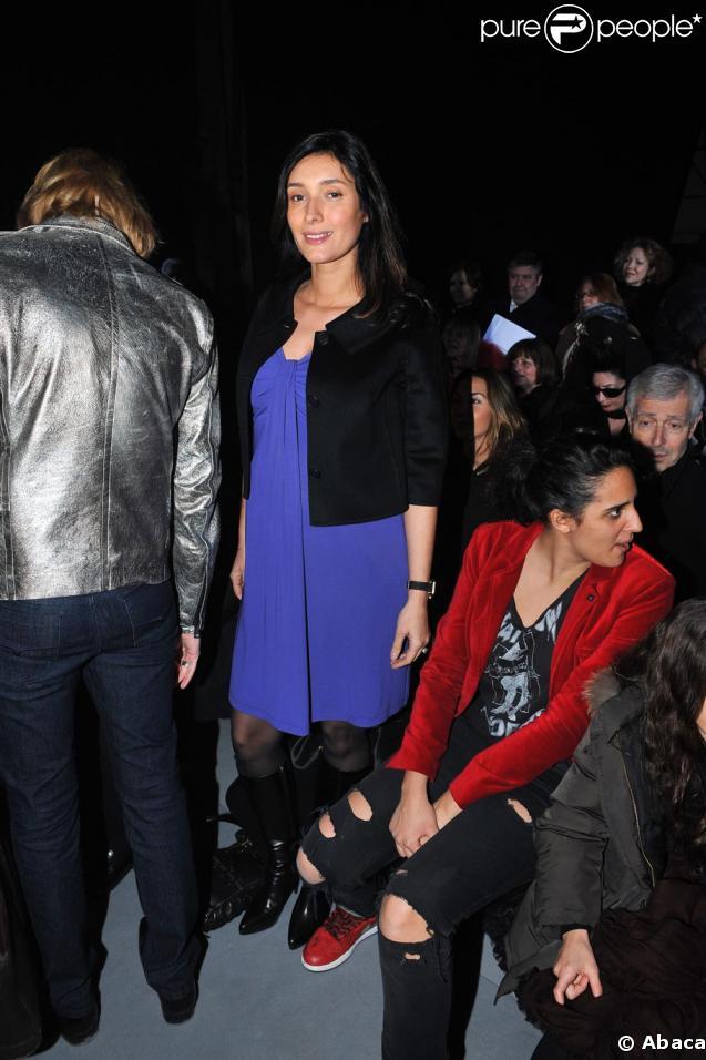 Zofia radieuse au défilé Galliano