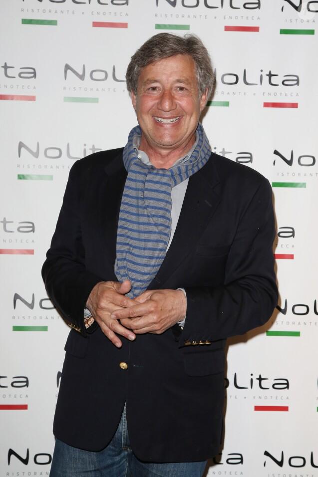 Exclusif - Patrick Sabatier - Anniversaire de l'incontournable programmateur de television et de radio Jacques Sanchez au restaurant branche NOLITA à Paris 8ème le 29 mai 2013.